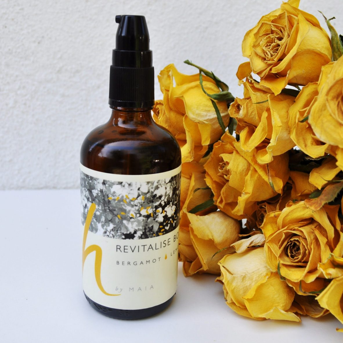 Organic body oil Revitalise body oil h by Maia